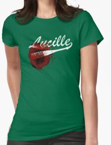 Lucille The Walking Dead Womens Fitted T-Shirt