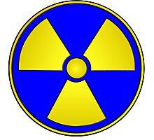 Radioactive Fallout Gamer Geek Photographic Print