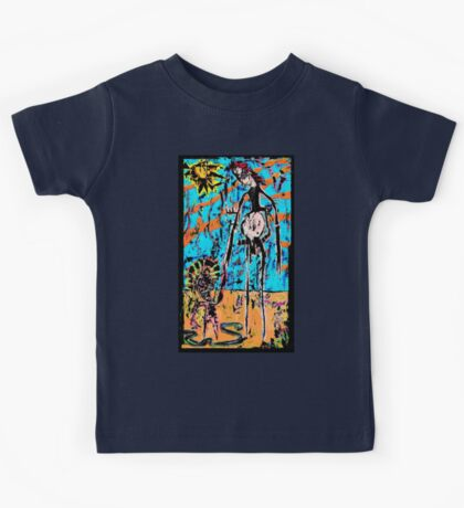 The Man, The Boy and The Child Within Kids Tee