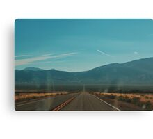 Highway 50 (Utah) Canvas Print
