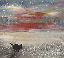 Ripley On The Beach by SuzanneShepherd