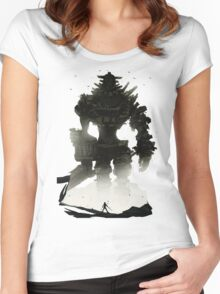 Shadow of the Colossus Women's Fitted Scoop T-Shirt