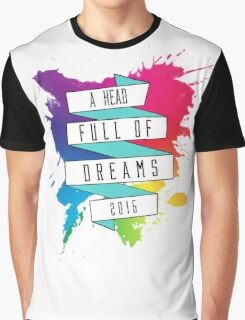 A Head Full of Dreams tour 2016 Graphic T-Shirt