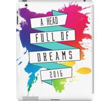 A Head Full of Dreams tour 2016 iPad Case/Skin