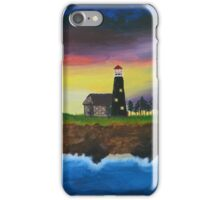 The Cliff Lighthouse iPhone Case/Skin