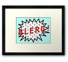 Liz Lemon Says... Framed Print