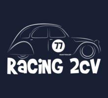 Racing Citroen 2CV Kids Tee