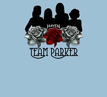 Haven Team Parker Sides Of Audrey Black Logo Unisex T-Shirt