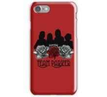 Haven Team Parker Sides Of Audrey Black Logo iPhone Case/Skin