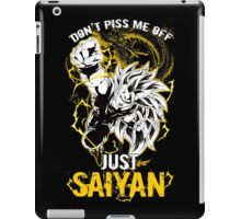Super Saiyan Goku Shirt - RB00036 iPad Case/Skin