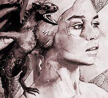 Daenerys Targaryen by Mellark90