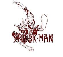 Spider-Man • Mid Air Spider! Photographic Print