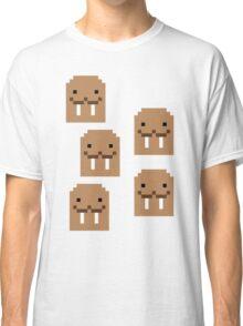 I am a walrus - Pixel Classic T-Shirt