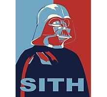 Darth Vader Digital Drawing Photographic Print