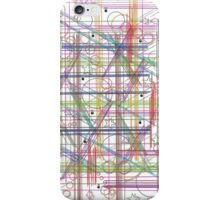 Linear Thoughts iPhone Case/Skin