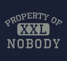 Property of Nobody Kids Clothes