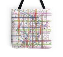 Linear Thoughts Tote Bag