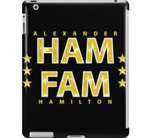 Broadway's Alexander Hamilton: Ham Fam iPad Case/Skin
