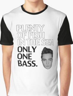 Plenty of Fish in the Sea. Only One Bass.  Graphic T-Shirt