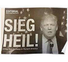 Sieg Heil Trump Poster