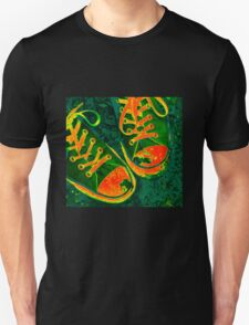 Red Hot Sneakers Unisex T-Shirt