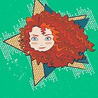 I Am Brave - Princess Merida by Paulway Chew