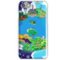 Paper Mario World Mashup Poster iPhone Case/Skin