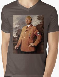 Trump is Hitler Mens V-Neck T-Shirt