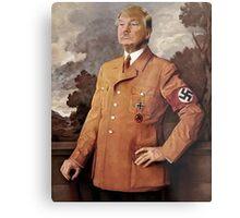 Trump is Hitler Metal Print
