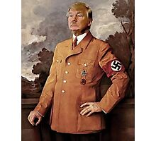 Trump is Hitler Photographic Print