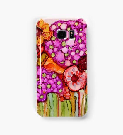 """Bouquet"" - Colorful, unique artist's original design! Samsung Galaxy Case/Skin"