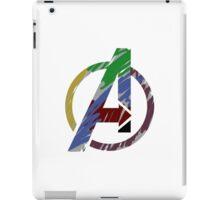 Avengers graffiti logo iPad Case/Skin