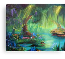 Miniscule World Canvas Print