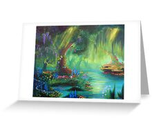 Miniscule World Greeting Card