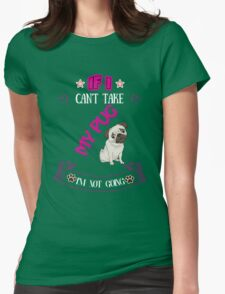 i'm not going  Womens Fitted T-Shirt