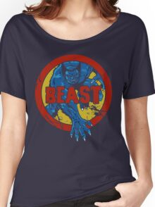 Beast • X-Men Logo Women's Relaxed Fit T-Shirt