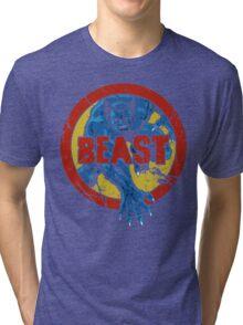 Beast •X-Men Logo Tri-blend T-Shirt