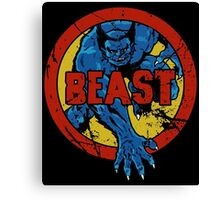 Beast • X-Men Logo Canvas Print