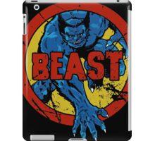 Beast •X-Men Logo iPad Case/Skin