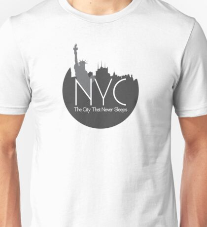 The City That Never Sleeps Unisex T-Shirt