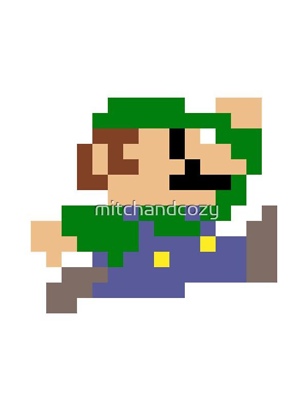 3D design 8bit Mario jumping Mario template  Tinkercad