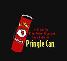 I can't fit my hand inside a Pringle Can Zipped Hoodie
