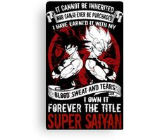 Super Saiyan Goku - RB00029 Canvas Print