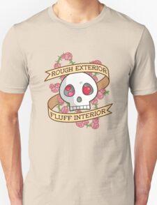 ROUGH EXTERIOR, FLUFF INTERIOR Unisex T-Shirt