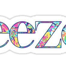 deezee floral Sticker