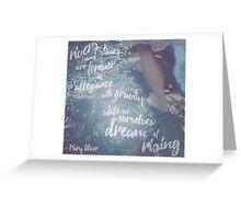 Dream of Rising Greeting Card