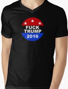 Fuck Trump Mens V-Neck T-Shirt