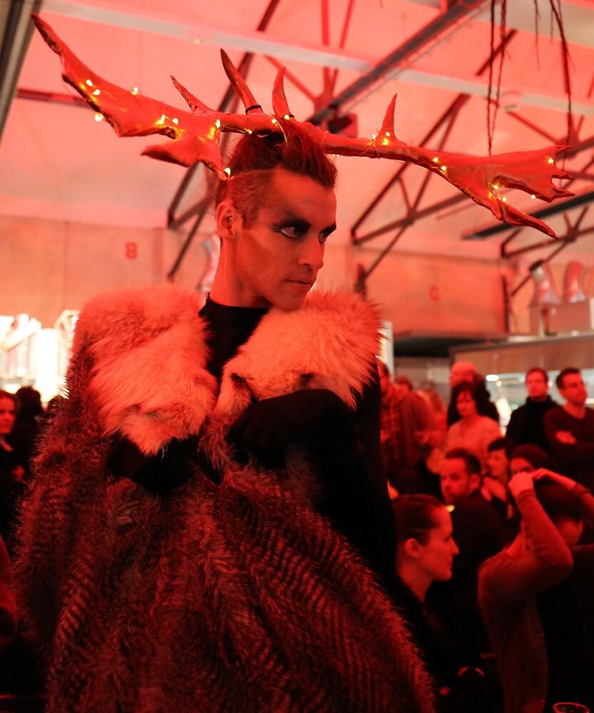 Dark Mofo Winter Feist 2014 Reindeer man  by eisblume