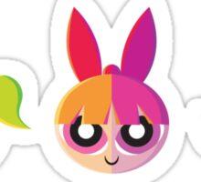 The Vectorpuff Girls Sticker