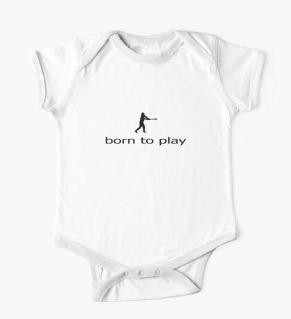 Baseball T-Shirt - Ball Game Tee One Piece - Short Sleeve